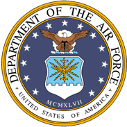 Department of the Air Force United States of America logo